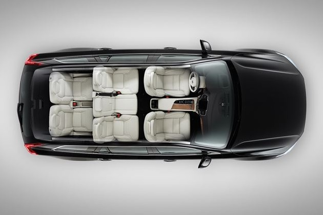 Volvo XC90 is a Mid-size Luxury Crossover SUV (4)