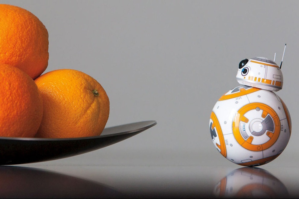Sphero Star Wars BB-8 App-Enabled Droid Toy (3)