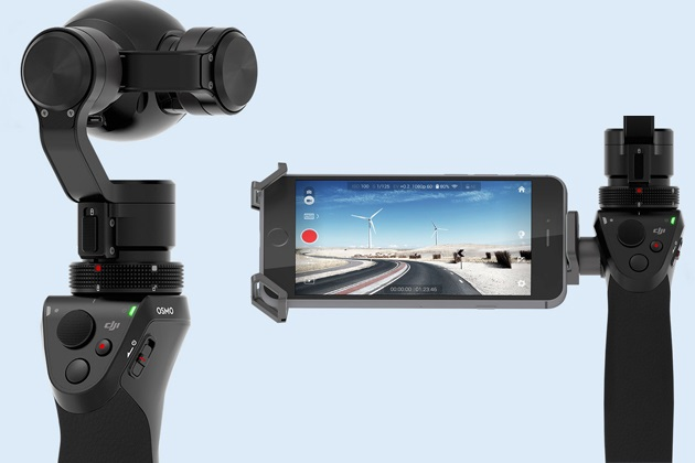 DJI Osmo Is Ultimate Brushless Gimbal With Handheld 4k Camera (6)