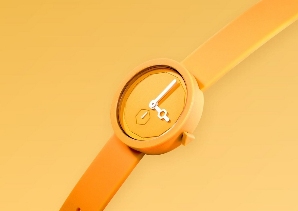 AÃRK Collective Classic Yolk Watch (1)
