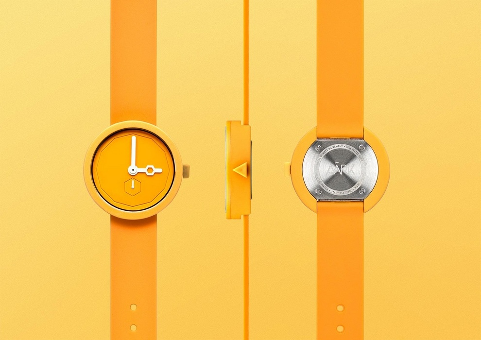 AÃRK Collective Classic Yolk Watch (3)