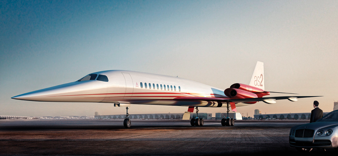Aerion AS2 Priveate Supersonic Jet (5)