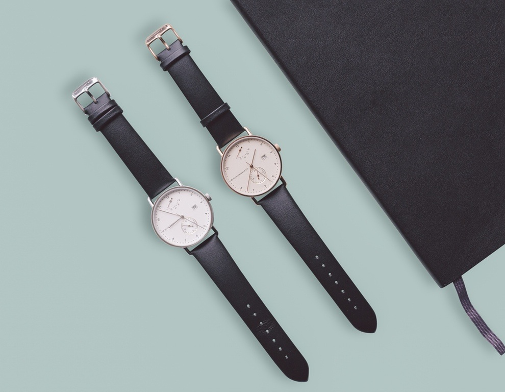 Archibald a bauhaus inspired automatic watch by h co for Replica bauhaus