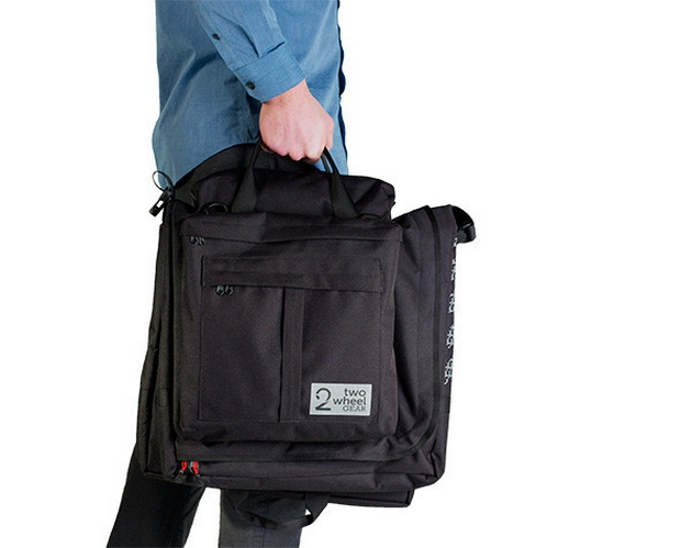 Bicycle Suitcase Bag by two wheel gear (2)