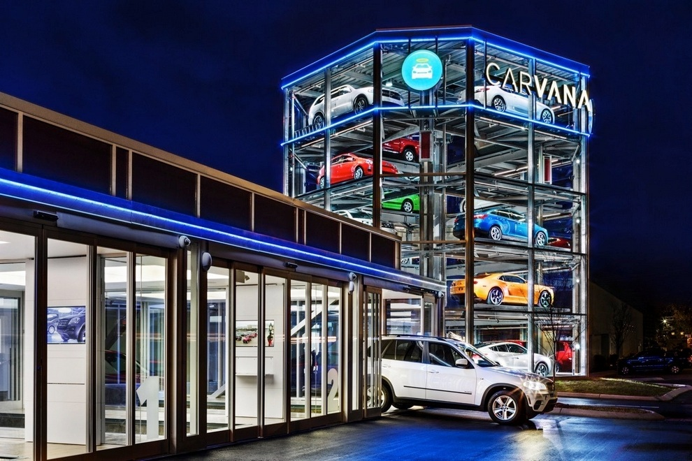 Nashville Used Cars >> Carvana Car Vending Machine - Bonjourlife
