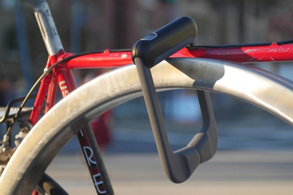 Grasp - Fingerprint Recognition Bicycle Lock (1)
