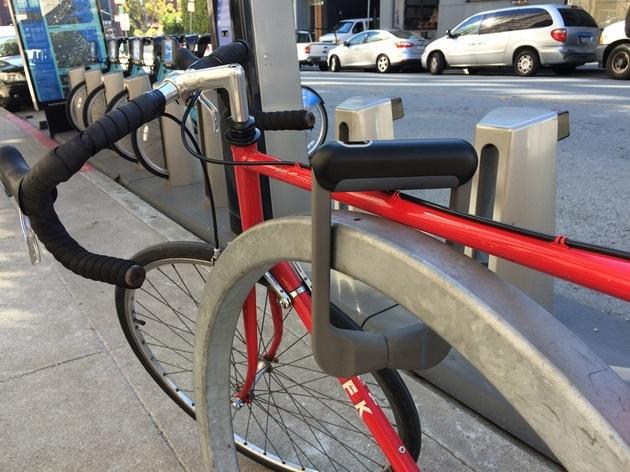 Grasp - Fingerprint Recognition Bicycle Lock (3)
