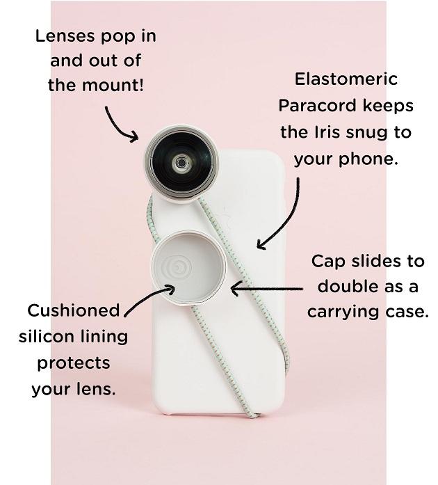Iris Lenses for iPhone