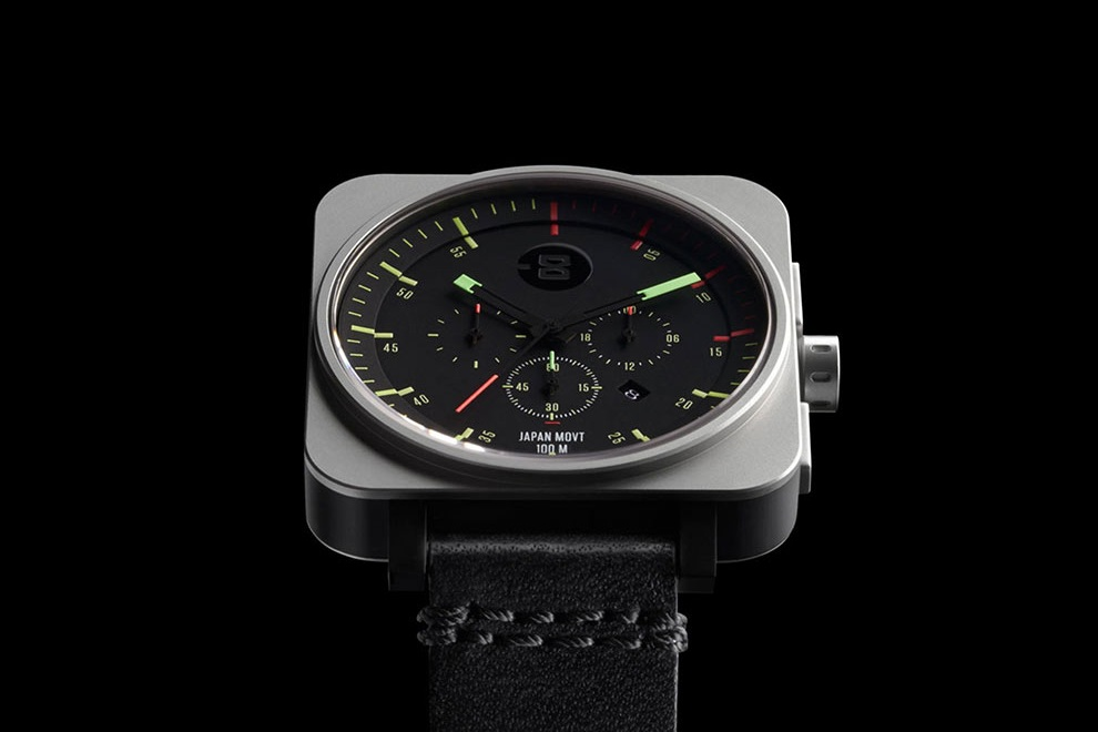 MINUS-8 Zone 2 Square Chrono Watches (1)