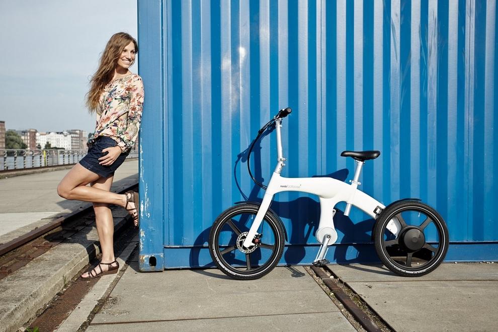 Mando Footless Folding Electric Bike (1)