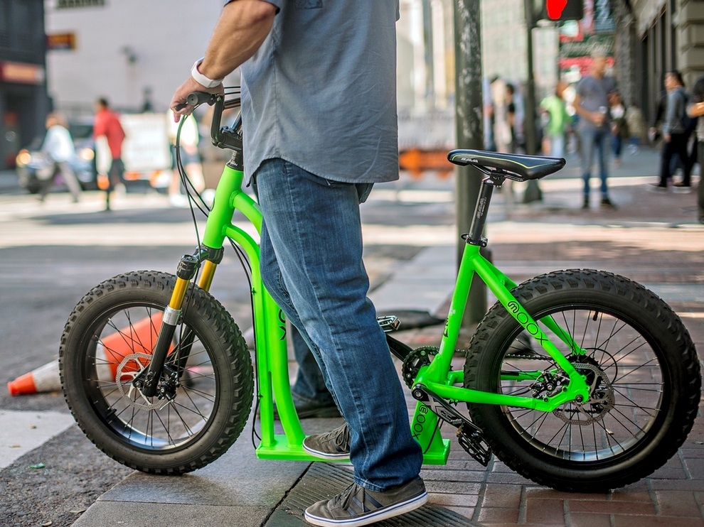 Moox Bike - Bicycle With Scooter Twist (1)