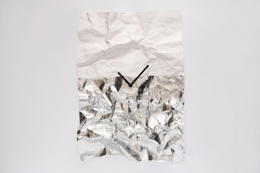 NEW-TIME Wall Clock by Veronika Szalai (3)