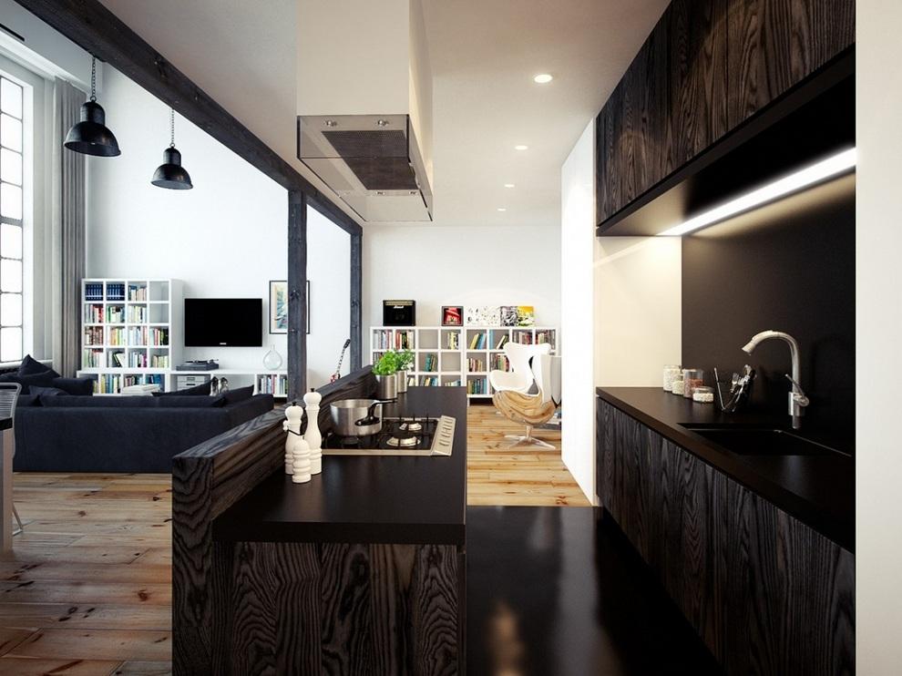 Oskar Firek Designed Loft For Men (1)