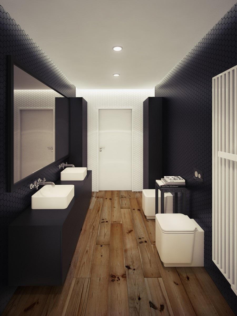 Oskar Firek Designed Loft For Men (11)