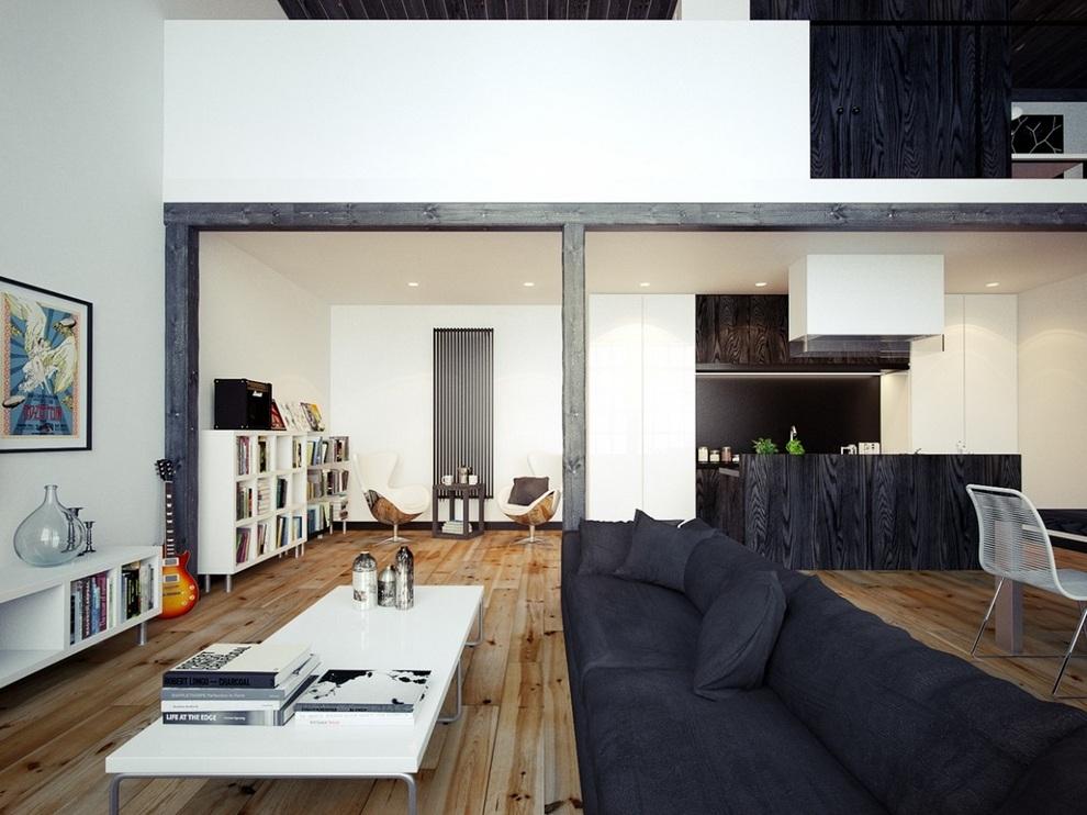 Oskar Firek Designed Loft For Men (3)