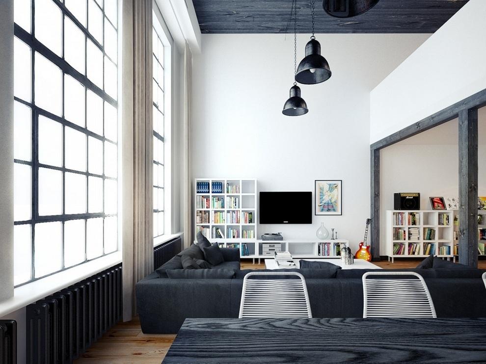 Oskar Firek Designed Loft For Men (4)