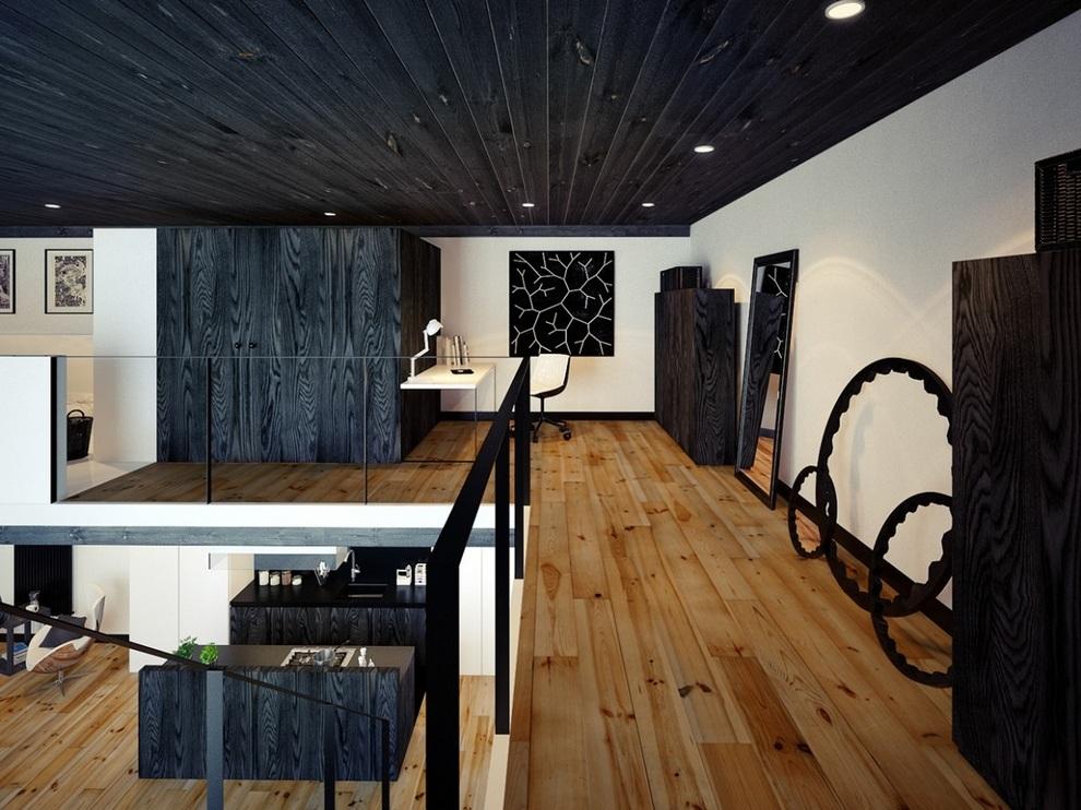 Oskar Firek Designed Loft For Men (6)