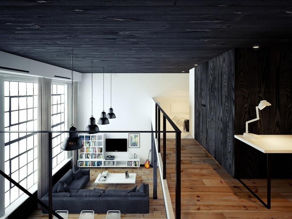 Oskar Firek Designed Loft For Men (7)