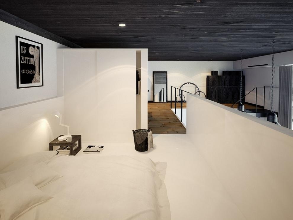 Oskar Firek Designed Loft For Men (8)