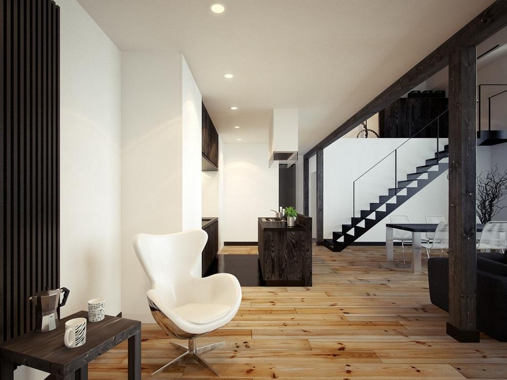 Oskar Firek Designed Loft For Men (9)