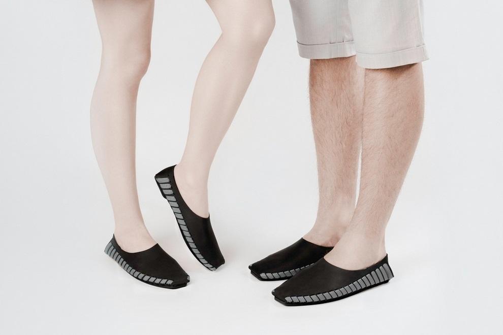 Pikkpack x Supermundane Flat-Packed Leather Shoes (5)