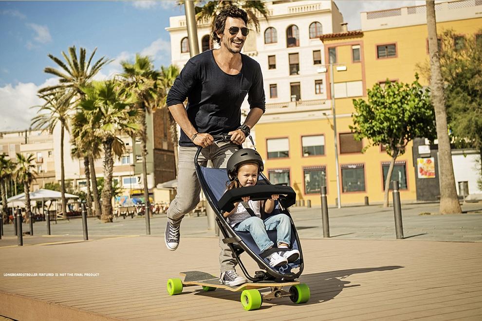 Quinny Longboard Stroller (1)