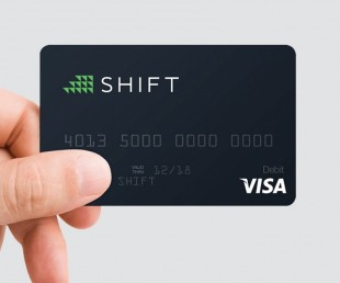 TheShift - VISA Powered Debit Card for Bitcoin (1)