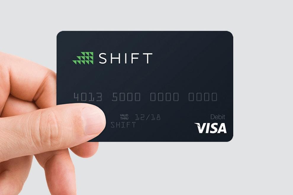 TheShift - VISA Powered Debit Card for Bitcoin (1)