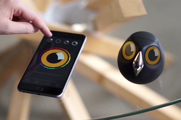 Ulo Is A Pet Owl Surveillance Camera With Attitude (4)