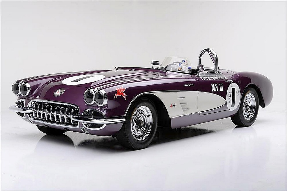 1959 Chevrolet Corvette Purple People Eater (7)