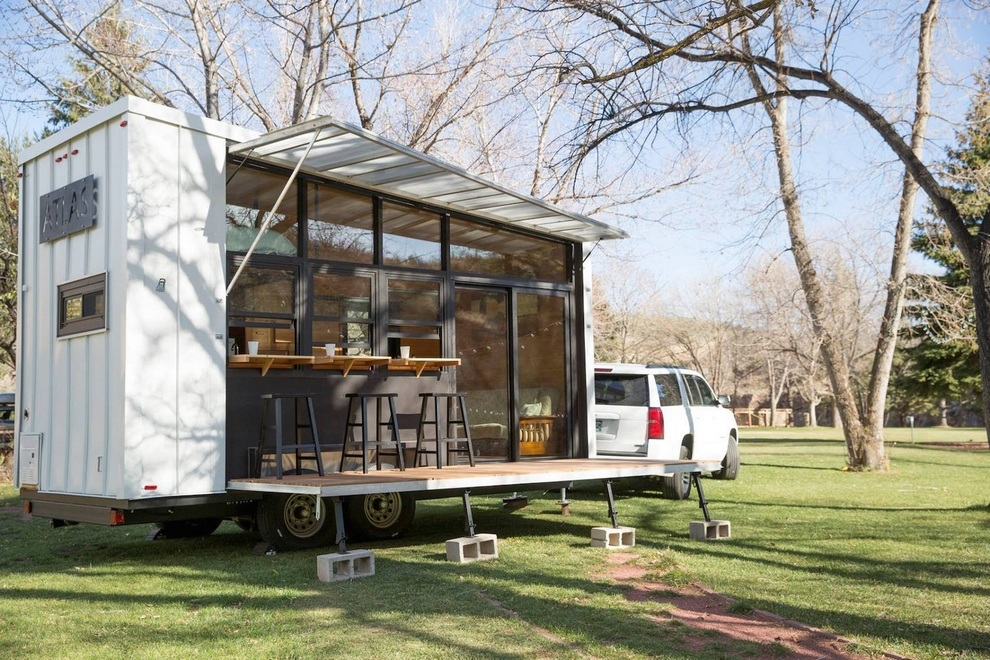 Atlas is an Eco Friendly Tiny Movable House Bonjourlife