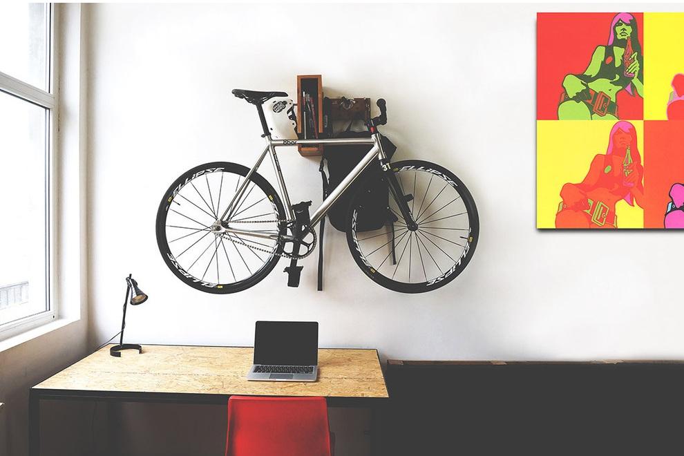 BERLIN+ Wooden Bicycle Shelf (5)