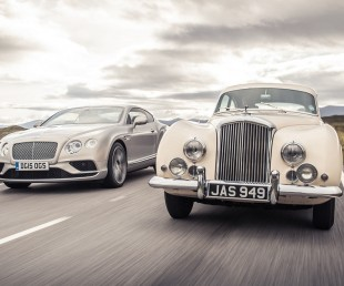Bentley Pays Homage to Continental