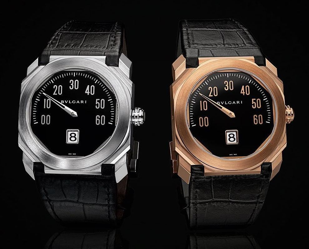 Bulgari's Octo Mono-Rétrograde Automotive-Inspired Watch