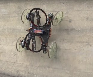 Disney's Wired Robot Climbs Walls