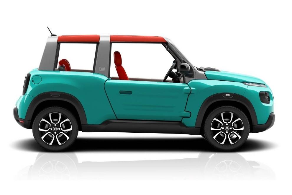 E-Citroen Mehari Mini Car (1)