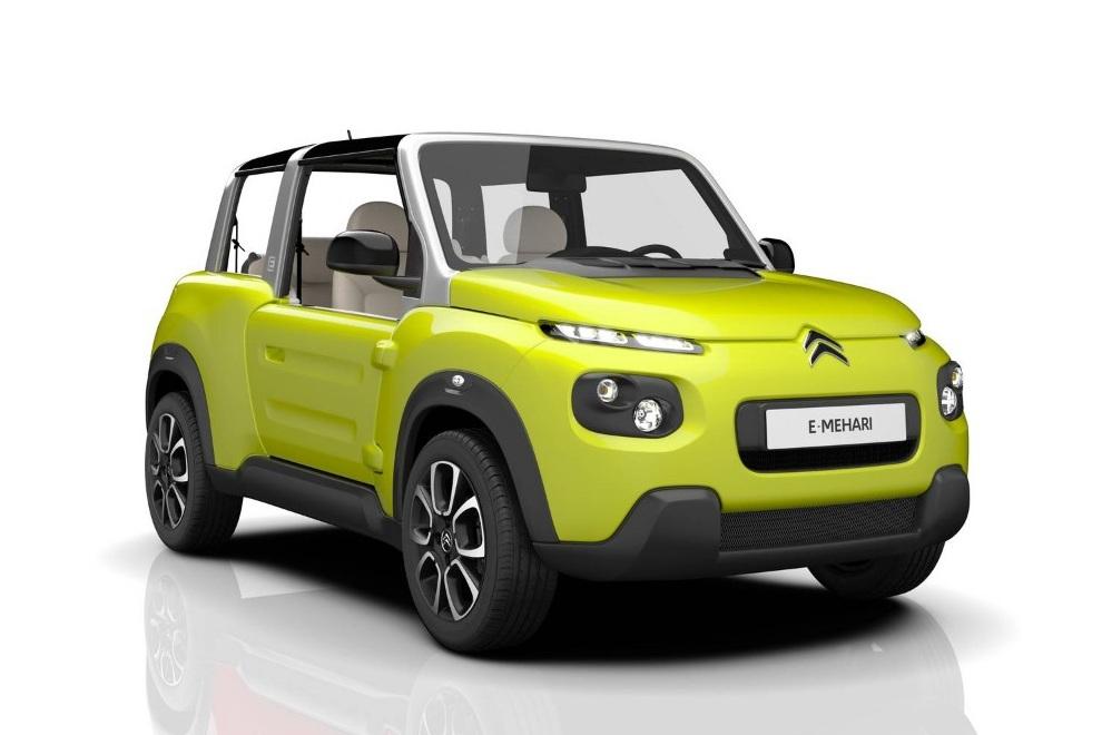 E-Citroen Mehari Mini Car (4)
