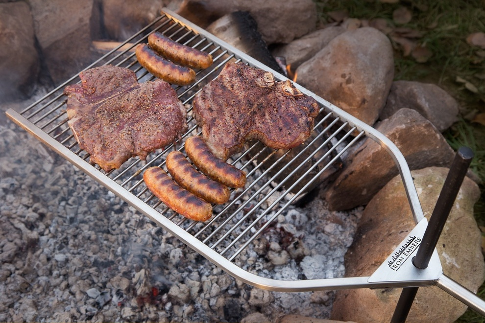 IronEmbers Open Fire BBQ Grill