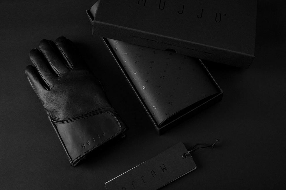 Leather Touchscreen Gloves (2)