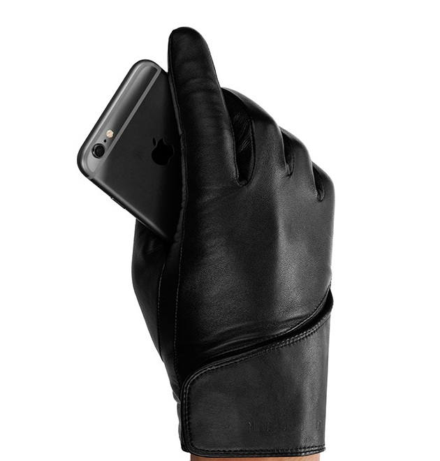 Leather Touchscreen Gloves (4)