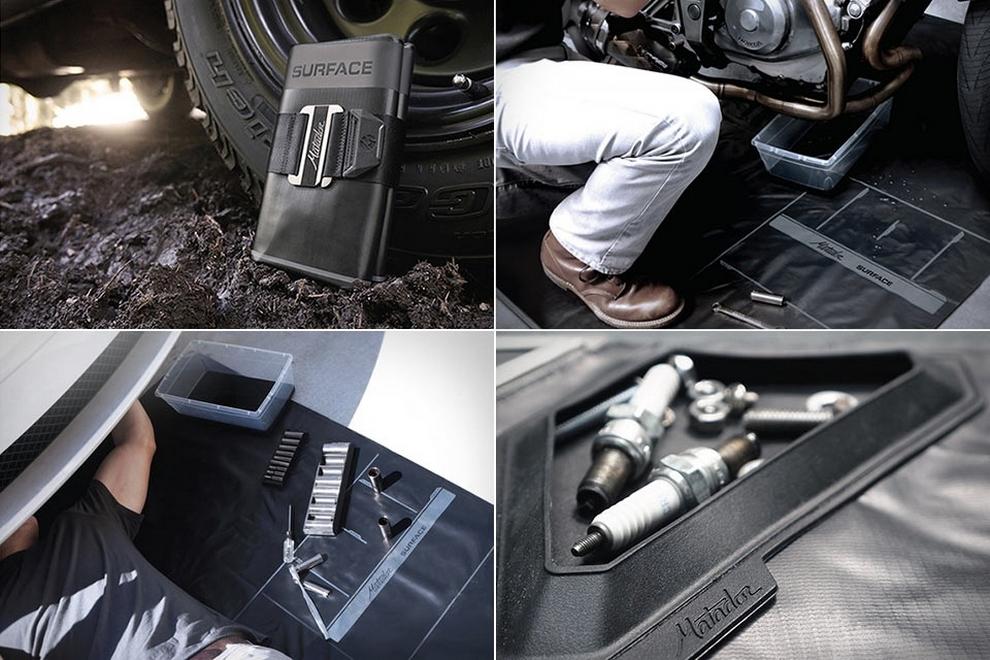 Matador Surface - Portable OilGrease Resistant Mechanical Work Surface (2)