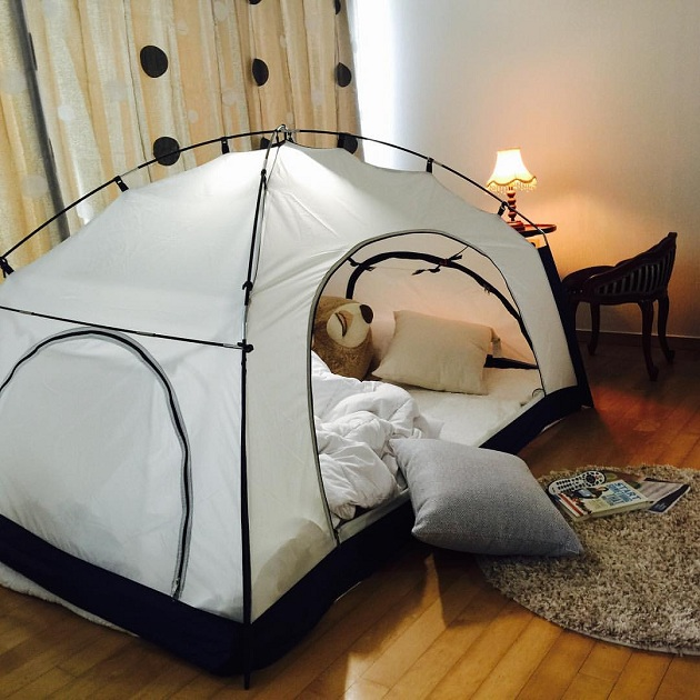 room in room a cozy tent for your bedroom 2