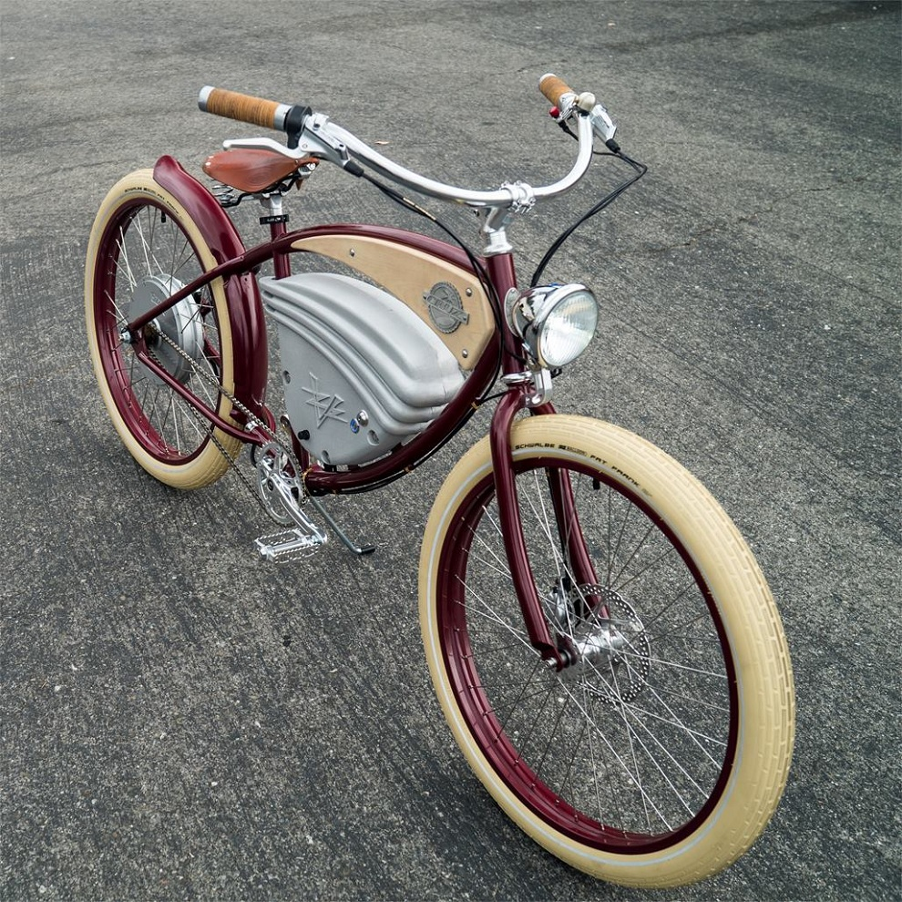 Vintage-Style Electric Bicycles (1)