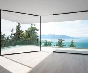 Vitrocsa sliding glass wall window