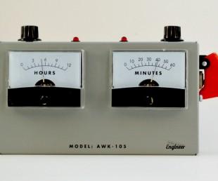 Voltmeter Analog Alarm Clock (1)