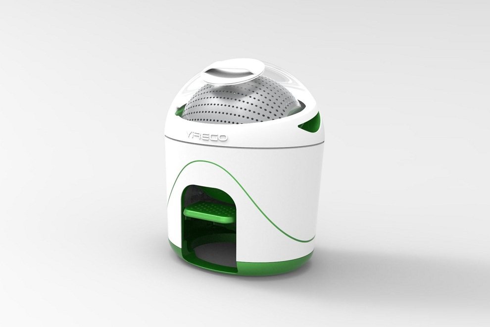 Yirego Drumi Off Grid Washing Machine Is Powered By Foot