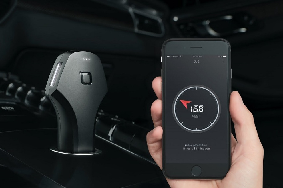 ZUS - The Truly Smart Car Charger & Car Locator