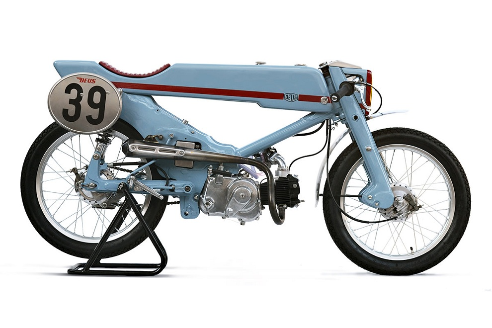 1961 Honda Super Cub Firefly by Deus Japan (2)