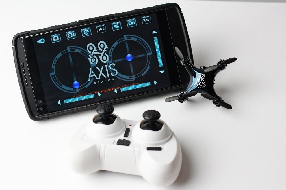 Axis VIDIUS The World's Smallest Camera Drone (2)