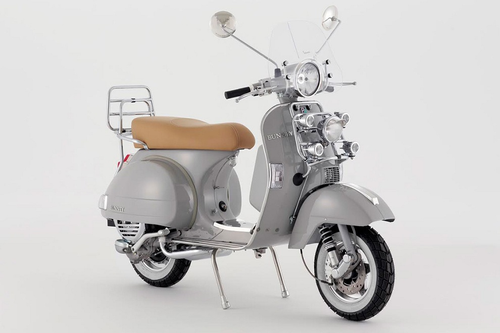 BUNNEY x Vespa Jewelry-Inspired Scooter (1)
